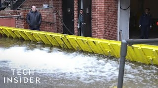Automatic Floodgate Helps Communities Against Natural Disasters