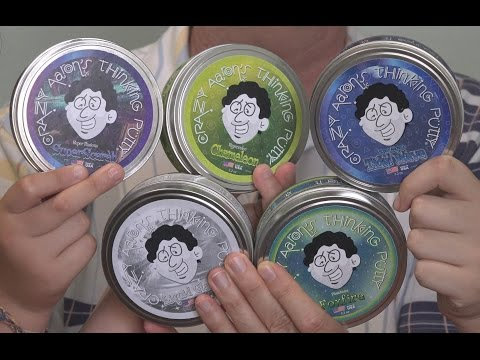 Best of Crazy Aaron's Thinking Putty- Our Favorites!    EpicReviewGuys in 4k CC