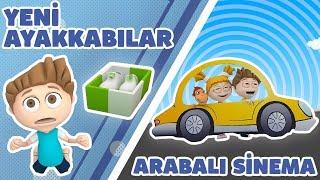 Kukuli – Arabalı Sinema & Yeni Ayakkabılar | 2 Bölüm Bir Arada | Çocuk Şarkıları & Çizgi Filmler