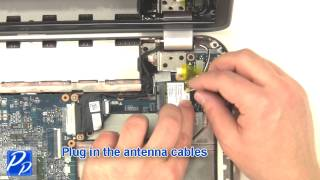 Dell Inspiron 15R (5520 / 7520) WLAN Wireless Wi-Fi Card Replacement Video Tutorial