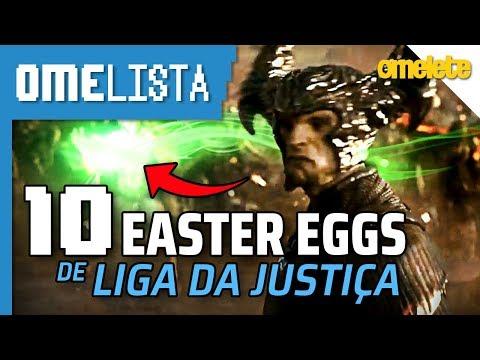 10 EASTER EGGS DE LIGA DA JUSTIÇA | Omelista