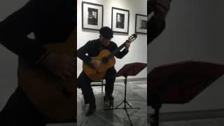 Luis Manuel Molina performs at Fototeca de Cuba YouTube Videos