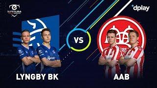 eSuperligaen - runde 12: Lyngby Boldklub-AaB 2-2
