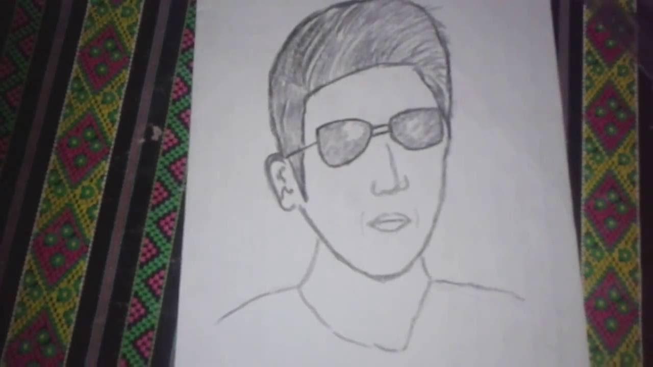 Cara Menggambar Orang Dengan Pensil YouTube