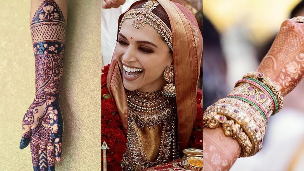Eid Special Heavy Bridal Mehndi Design || Full Hand ...