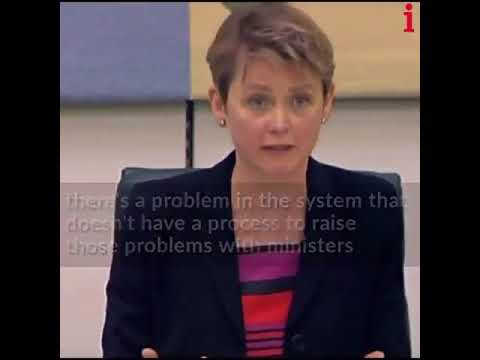 Yvette Cooper spells it out to Amber Rudd