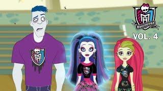 Монстр Хай 4 сезон: новая группа поддержки! Мультфильм на русском Monster High