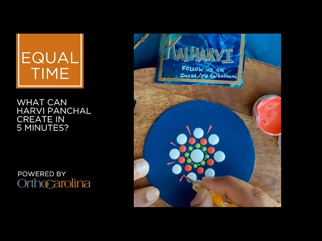 Equal Time: 5 Mesmerizing Minutes of Mandala from Harvi Panchal