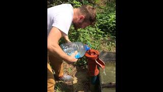 Samsun Çarşamba Tulumbadan su çıkarma  -Selahattin Aydın Vine
