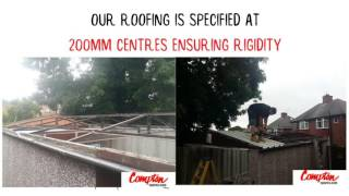replacement garage roof, Sheffield, South Yorkshire, asbestos roof removal