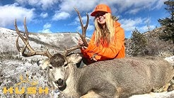 SHE GOT HIM AT 500 YARDS WITH THE WEATHERBY 30-378