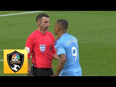 Last-gasp Gabriel Jesus winner chalked off by VAR   Premier League   NBC Sports