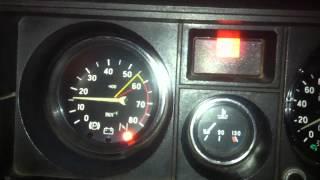 Пуск холодного двигателя 1
