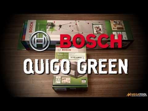 Видео обзор: BOSCH Quigo Green + унив.держатель ММ2