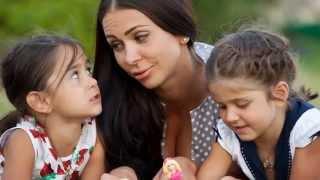 Презентация из фото ко дню рождения дочек