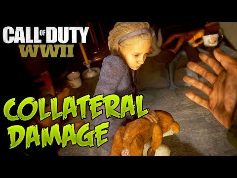 Call Of Duty WW2: Collateral Damage  - 4K | 2160p | 3440x1440 | 60FPS | GTX 1080 SLI | i7-6950X