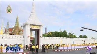 ภาพประทับใจตักบาตรเฉลิมพระเกียรติครองราชย์ครบ 70 ปี | สำนักข่าวไทย อสมท