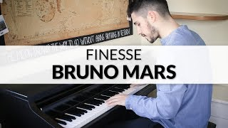 Bruno Mars Finesse Remix feat. Cardi B Piano Cover.mp3