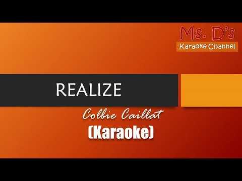 [KARAOKE] Realize - Colbie Caillat