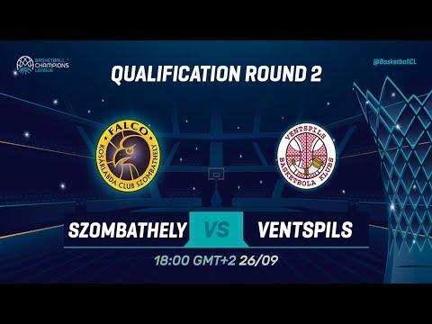Falco Szombathely v Ventspils - Qual. Rd. 2 - Full Game - Basketball Champions League 2019