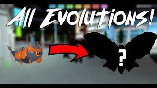 Chaque vitrine sauvage Loomian - Evolutions Loomian Legacy Roblox