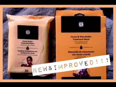 NEW & IMPROVED Rich Radiance Cocoa & Shea Butter Treatment Mask   SOLD IN DOLLAR TREE!!!