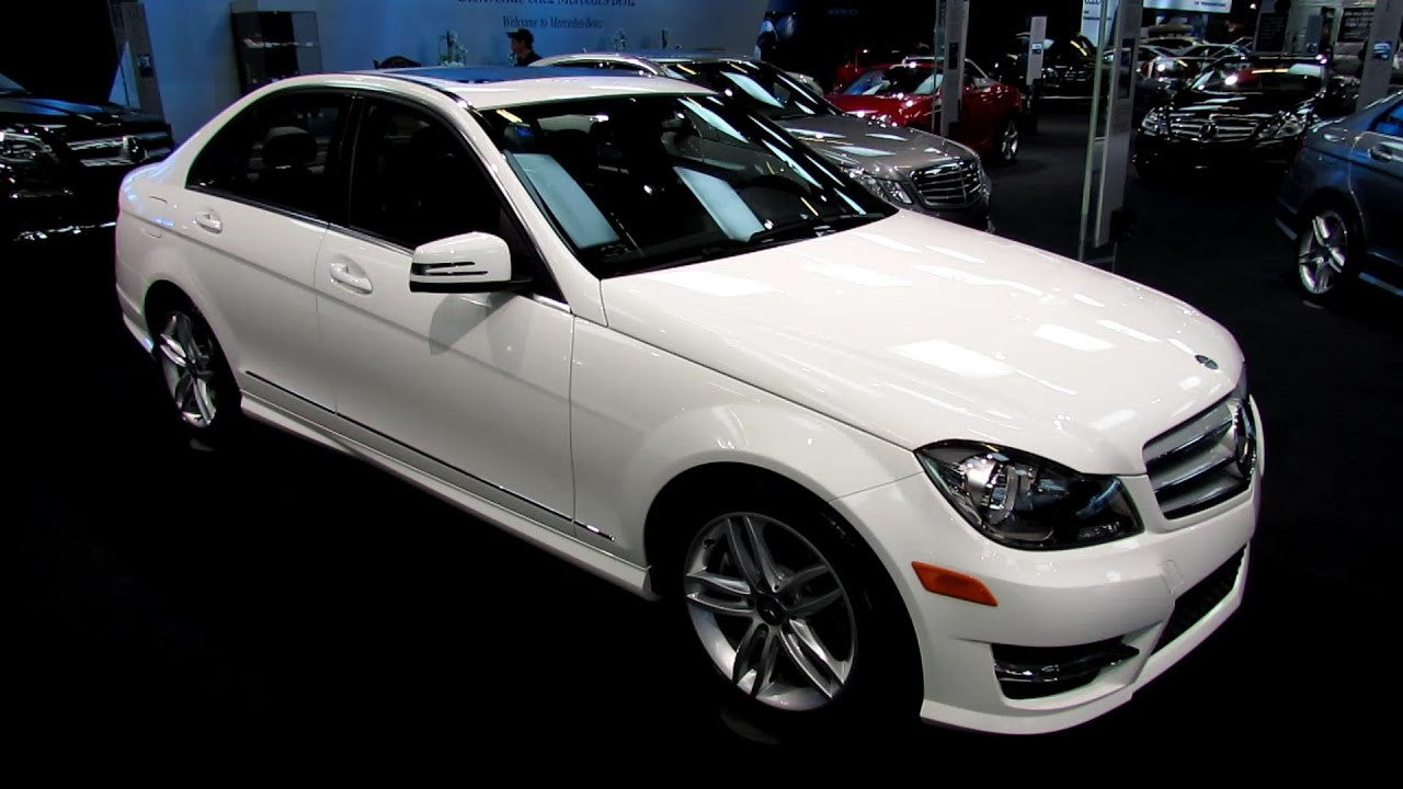 2013 Mercedes Benz C300 4matic Walkaround 2013 Salon