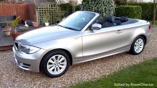 Video Review of 2009 BMW 118 ES Convertible For Sale SDSC Specialist Cars Cambridge UK
