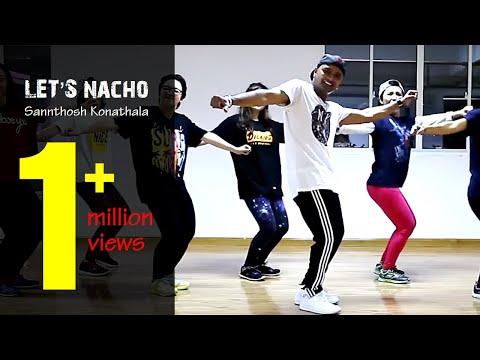 Let's Nacho | Sidharth Malhotra, Alia Bhatt, Benny Dayal | Santosh Konathala SK Choreography