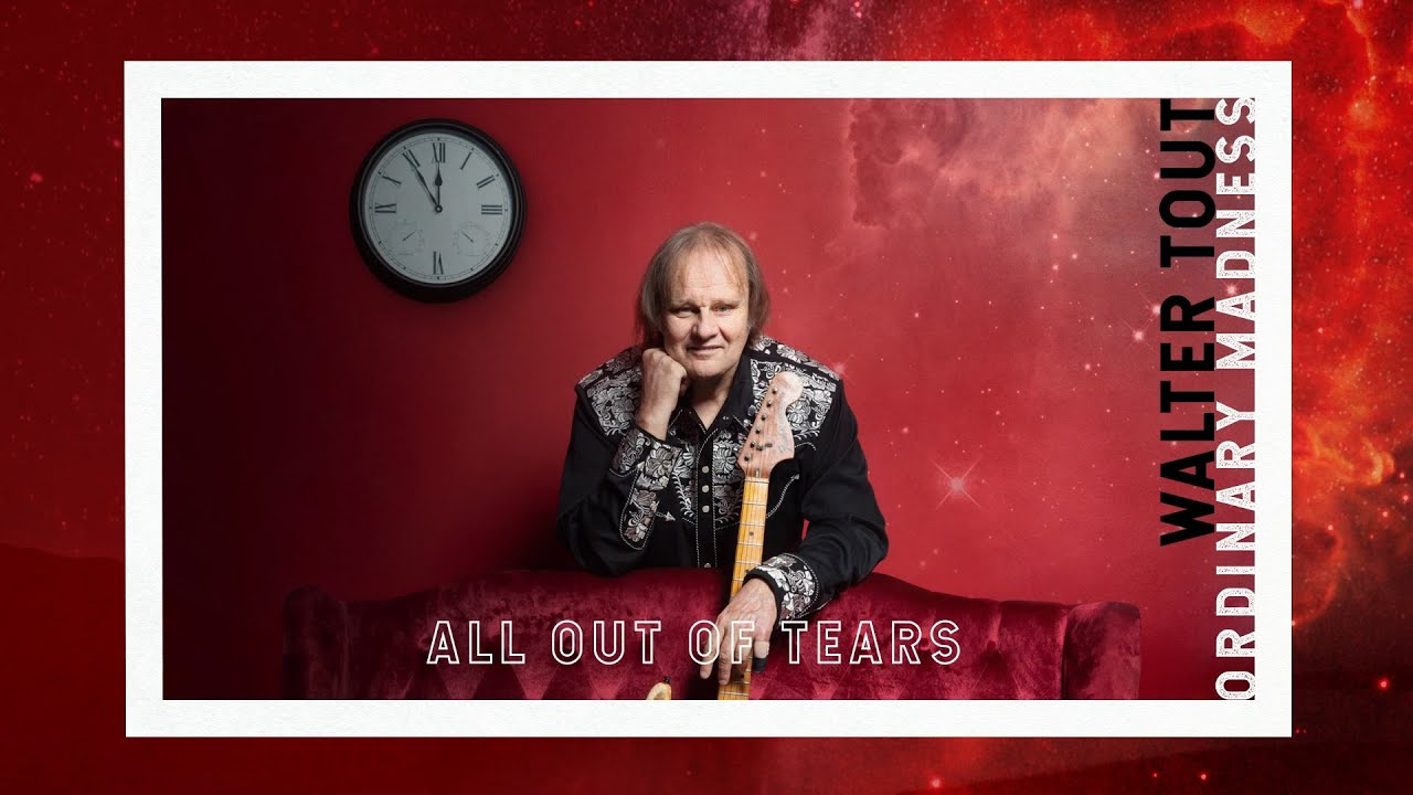 Walter Trout - All Out Of Tears (Official Lyric Video)