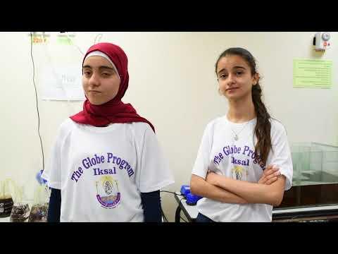 globe program alzahrawy j.h school ( iksal  2018)
