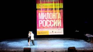 Juan Martin Carrara y Stefania Colina - Un baile a beneficio - Milonga Russia