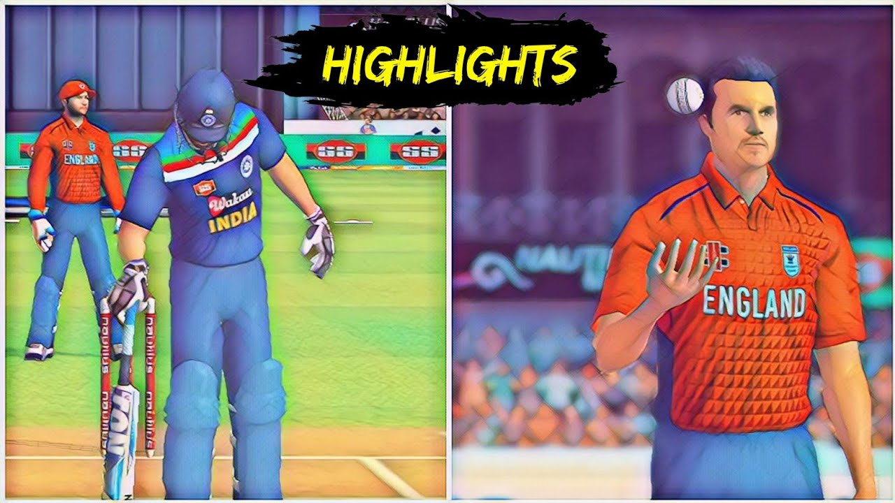India vs England || Match Highlights || Hardcore Mode || Real Cricket 20 Gameplay