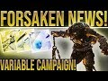 Destiny 2 Forsaken News. DAILY POWERFUL GEAR! (Secrets, Xbox Exotic, Mystery Object, Exotic Loot)