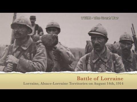 1914-05 Battle of Lorraine August 14 1914