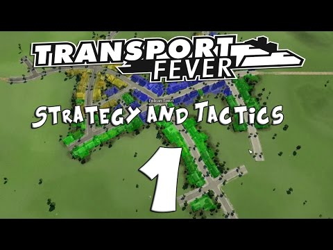Transport Fever Strategy & Tactics #1: 1850's Hard Mode (Penny Pincher)
