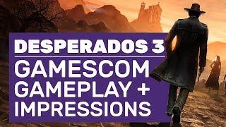 Desperados 3 Gamescom 2019 Gameplay Walkthrough - Mind Control And All New Features
