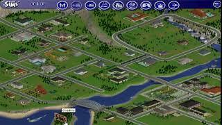 Sims 1- Loch Ness Monster Easter Egg