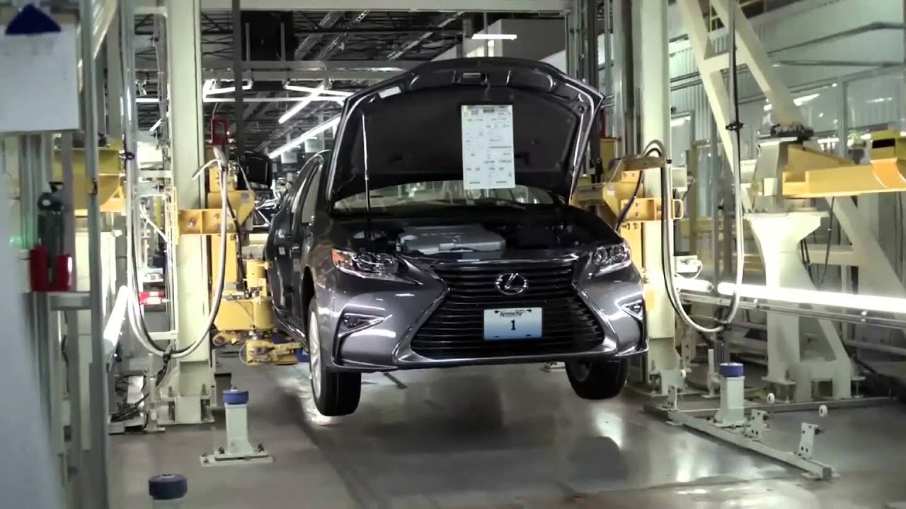 2015 Toyota Motor Manufacturing, Kentucky TMMK   First Lexus ES |  AutoMotoTV   YouTube