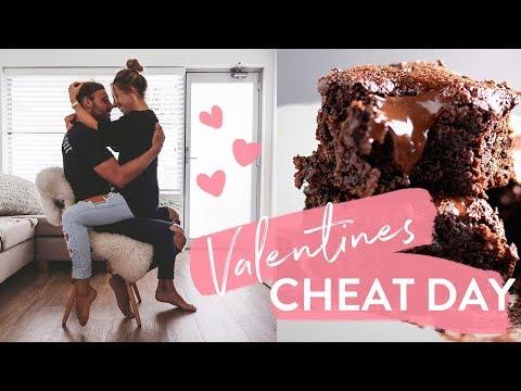 Valentines Cheat!? Pizza, Ice Cream + Paleo Brownie Recipe + KURT MOCKING ME!