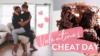 Valentines Cheat!? Pizza, Ice Cream + Paleo Brownie Recipe + KURT MOCKING ME!