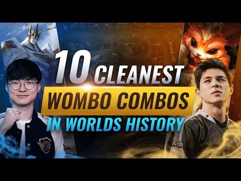 10 Cleanest Wombo Combos in Worlds History - League of Legends Esports