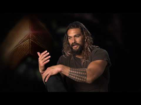 Download Youtube: Justice League - Interview with Jason Momoa (Aquaman)