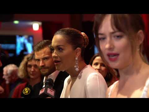 Fifty Shades Freed Paris World Premiere - B Roll Tvline (official video)