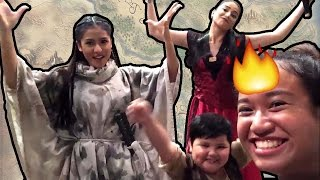 BEHIND THE SCENES AT ENCANTADIA - Vlog