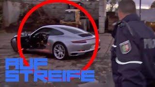 Wer hat den Porsche geklaut?! Tankwart wird mit einem Messer bedroht! | Auf Streife | SAT.1 TV