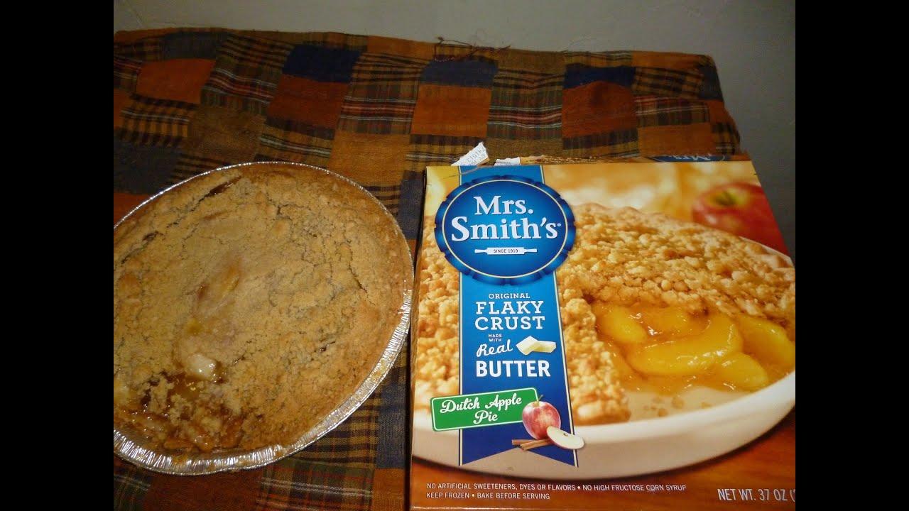 Mrs Smiths Original Flaky Crust Dutch Apple Pie Review By