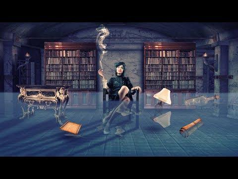 girl with underwater effect photo manipulation   photoshop tutorial cc
