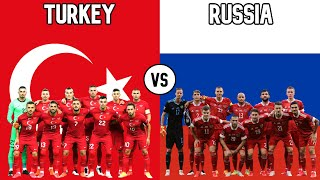 Turkey vs Russia Football National Teams 2020