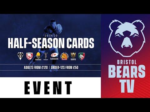 Half Season Cards On Sale Now!